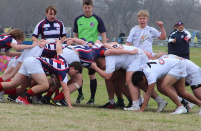 Westlake vs NT Barbarians Scrum